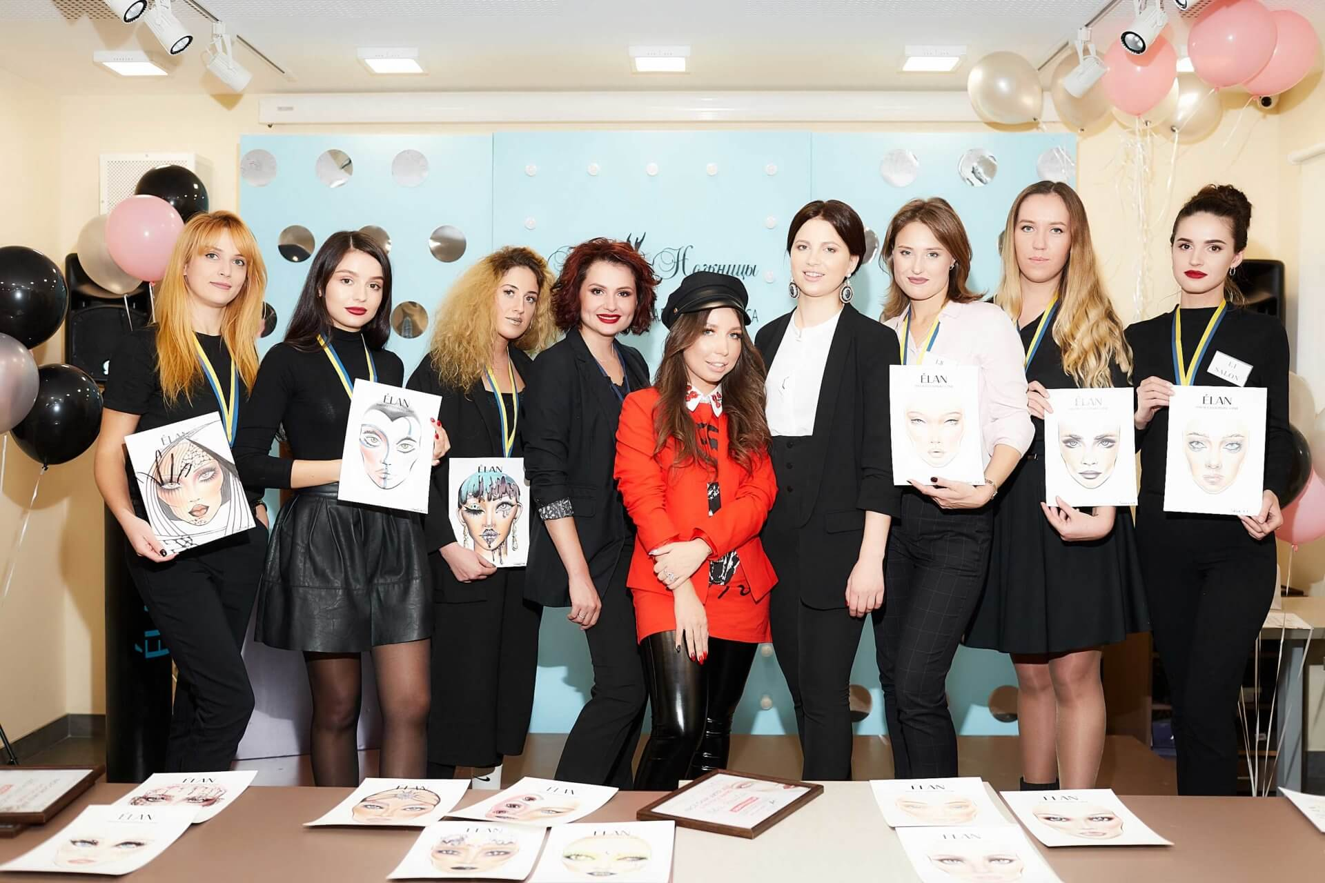 Первый Открытый Чемпионат Украины по созданию FACE CHART