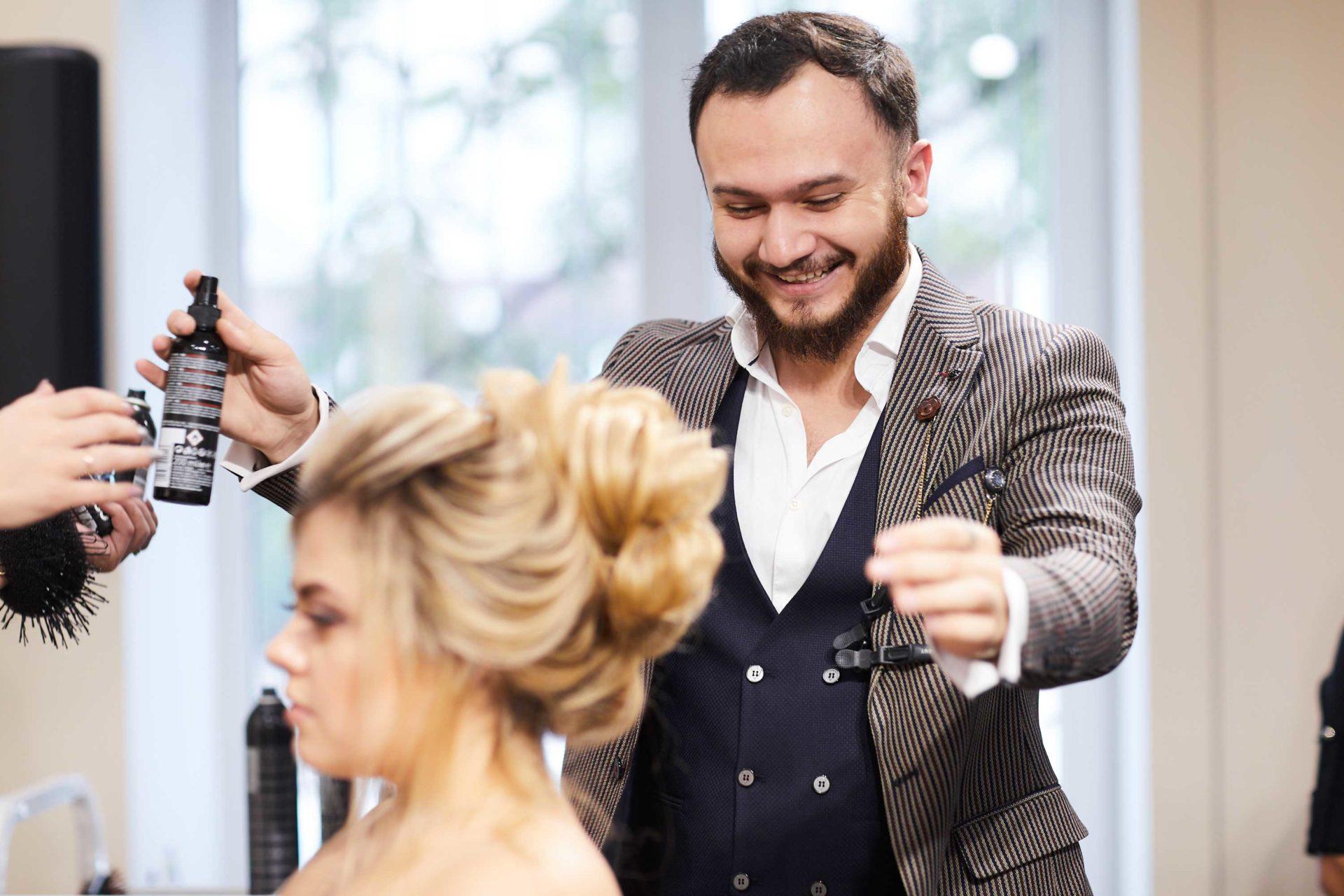 Мастер-класс Джейхуна Бабаева по вечерним и свадебным прическам 25-26 сентября 2018
