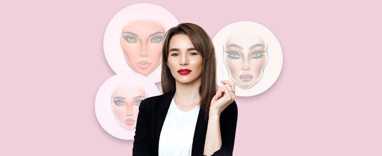 Мастер-класс Татьяны Давыденко «FACE CHART»